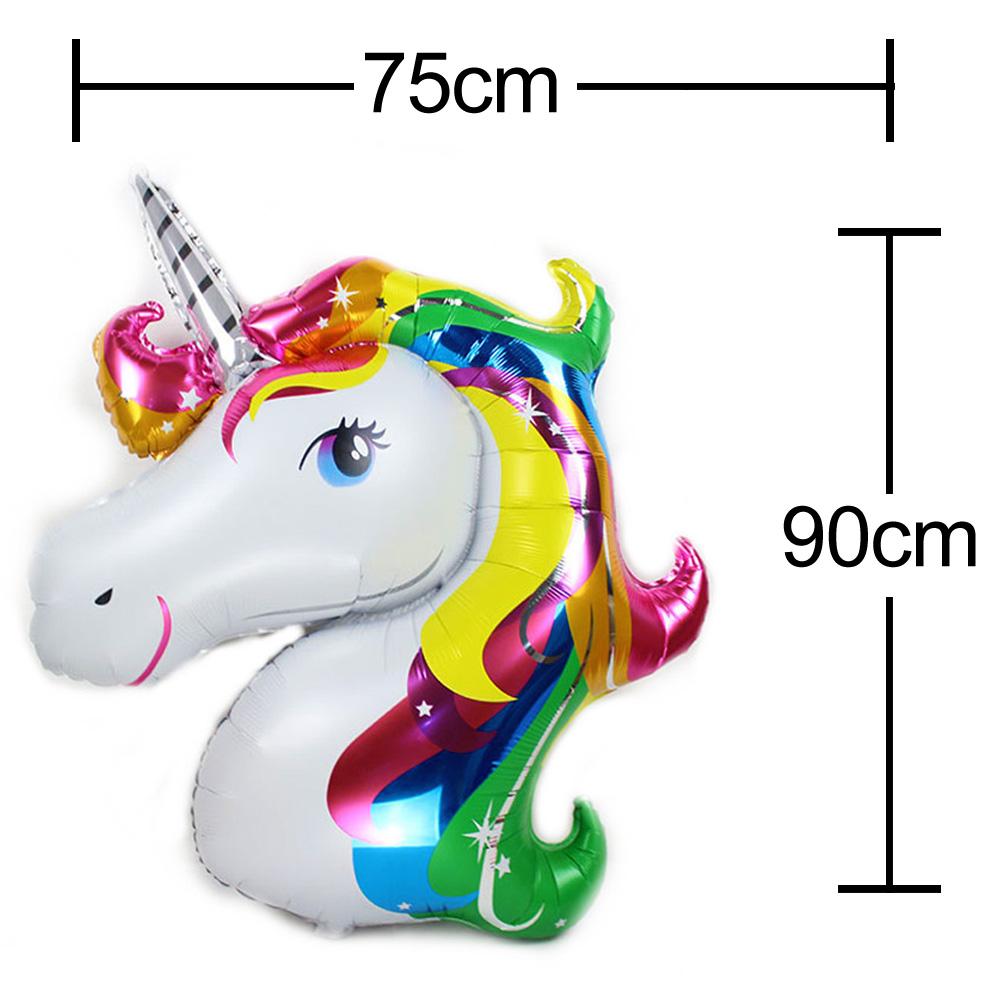 UNICORN Rainbow BALLOON FANTASY HORSE GIRLS BIRTHDAY CHRISTMAS X/'MAS Party